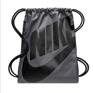 Nike Heritage Gym Sack Drawstring Backpack Bag